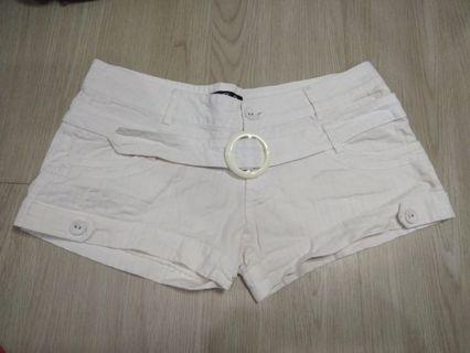 White Shorts P023