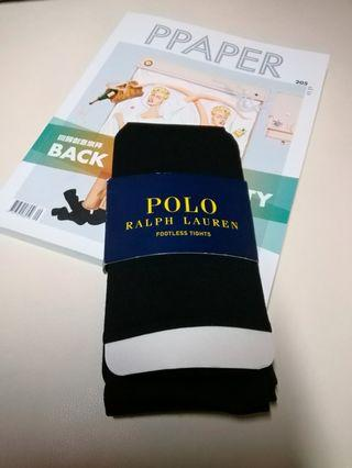 Ralph Lauren Polo footledd tights 褲襪