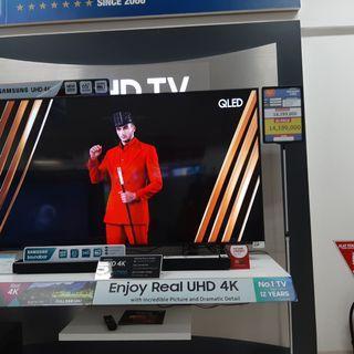 "Samsung UHD TV 4K 65"" Cicilan Tanpa CC & Gratis 1 Kali Angsuran"