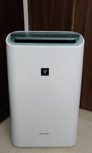品名:[自有物品]SHARP夏普空氣清淨除溼機(CV-DF100-W)