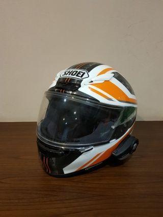 Shoei Z7 Parameter / RF 1200 XL Helm (bonus sena)