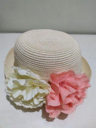 Women Straw Floral Hat