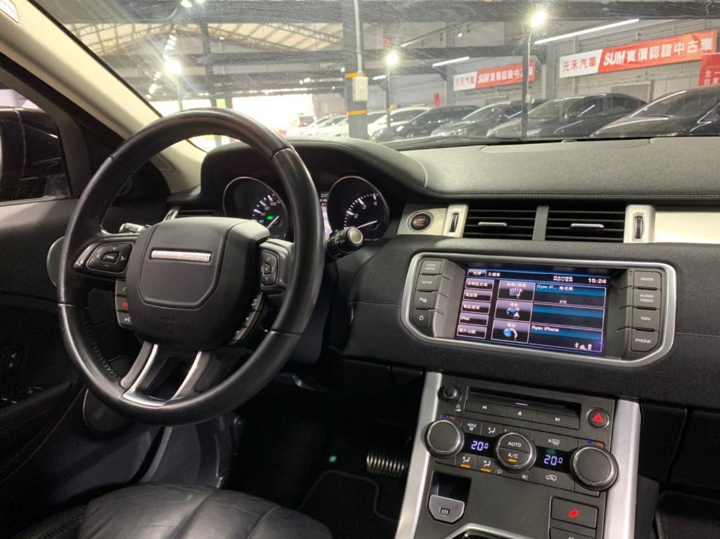 2013 Range Rover Evoque 2.0 岩鋼黑 非自售 代步車 實車實價