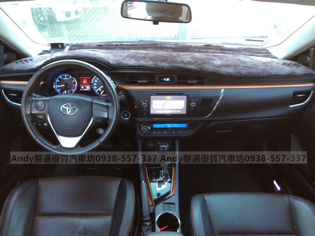 2015年 ALTIS X版 灰 1.8 熱門車中古車二手車