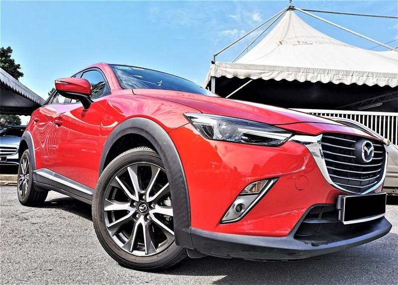 2016 Mazda CX-3 2.0 SKYACTIV SUV [1 LADY OWNER][15,000KM ONLY][UNDER WARRANTY][FULL SERVICE RECORD][JUST DONE SERVICE]TIPTOP
