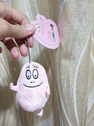 泡泡先生 粉紅泡泡小吊飾