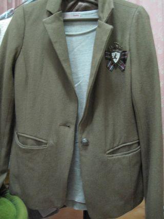 氣質毛料外套 原價2千多