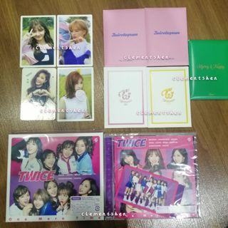 TWICE ALBUMS PHOTOCARDS