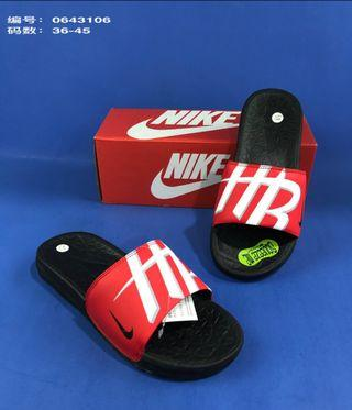Nike slippers size (36-45)