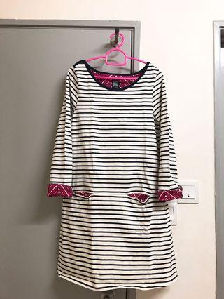 Stripes Long Tops