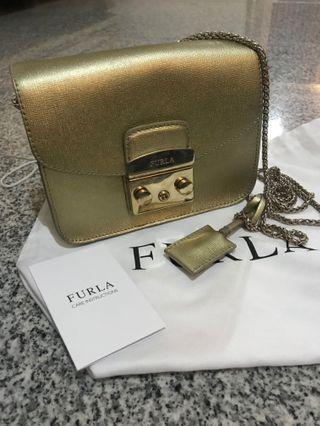 Furla Metropolis Gold