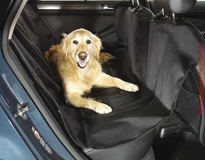 2-in-1 Waterproof Car Seat Pet Protector & Trunk Liner (Black