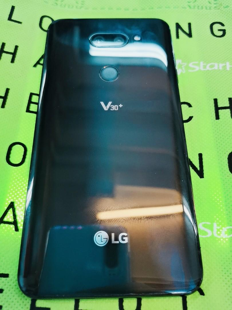 97% NEW LG V30+ 128GB BLACK LOCAL