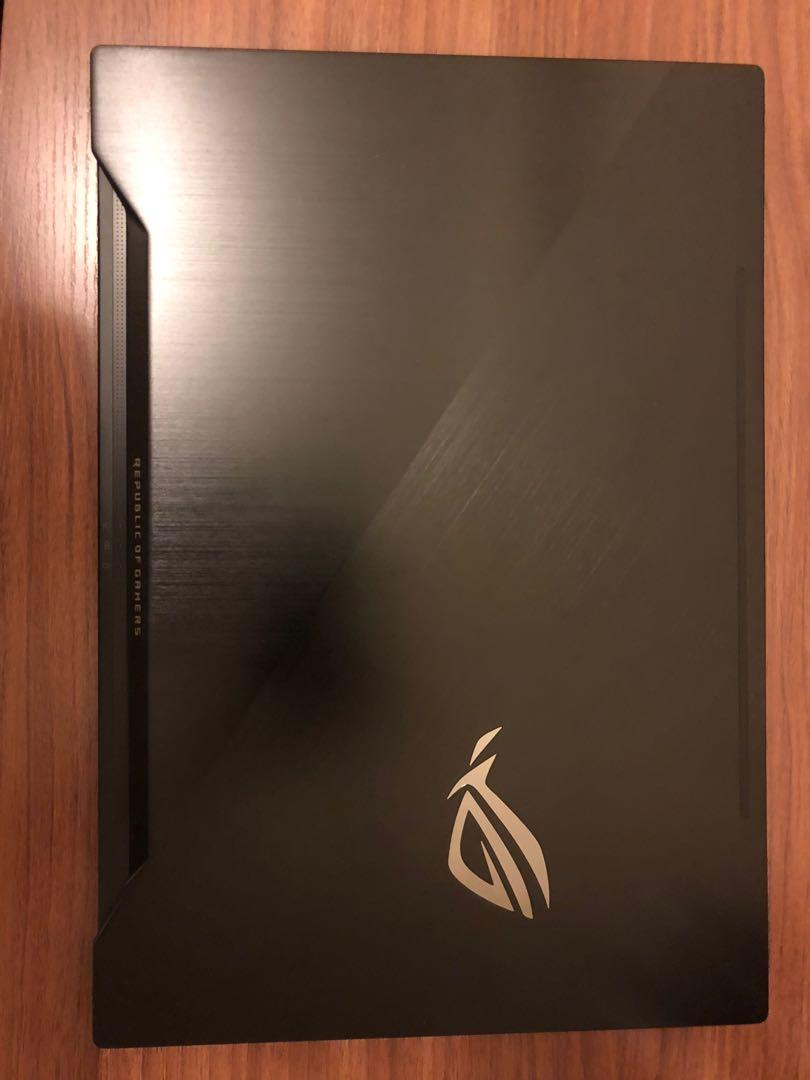"99% ASUS ROG Zephyrus (GX501GI) i7-8750H, GTX1080 Max-Q, 16GB ram, 512GB SSD, 15.6"" 1080p 144Hz Gaming Laptop, 電競本"