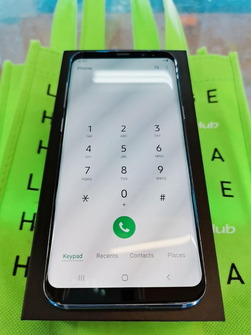 99% NEW SAMSUNG S8 PLUS 64GB ORCHID GRAY