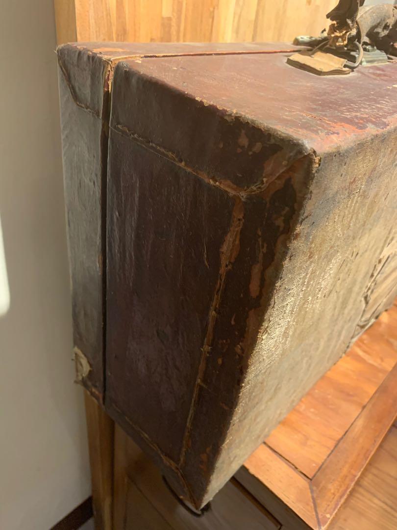 老木箱 請細看照片 1288含運