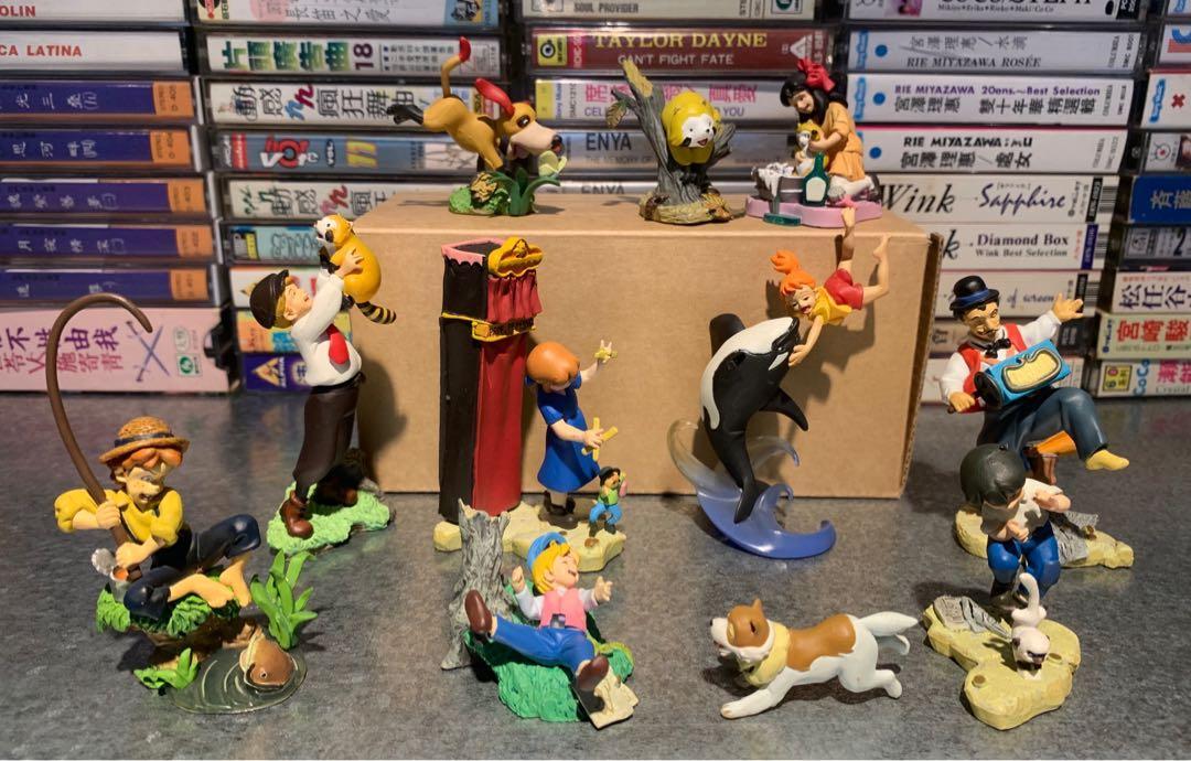 世界知名著作卡通 公仔十款 無盒 請細看照片 恕不拆賣 含超商店到店運費