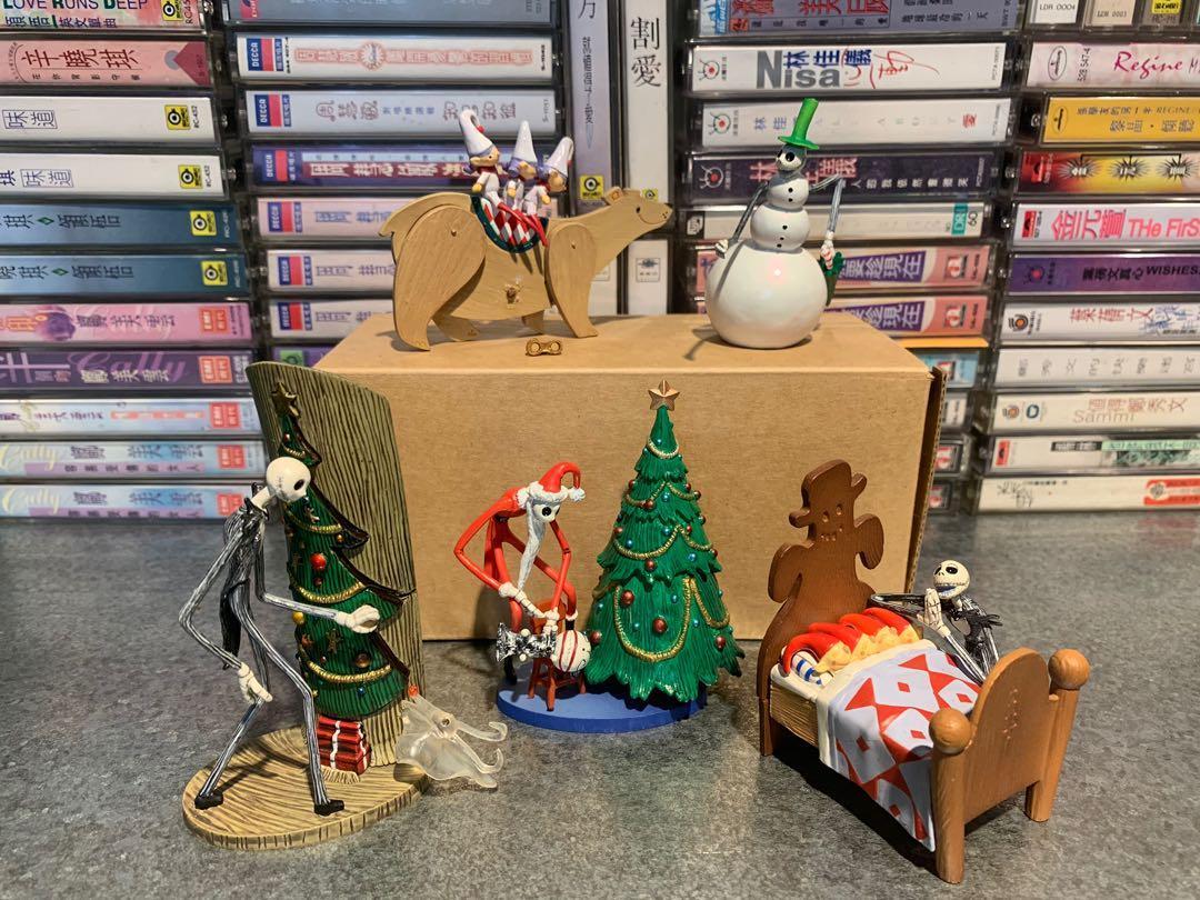 聖誕夜驚魂 公仔五款 無盒 請細看照片 恕不拆賣 含超商店到店運費