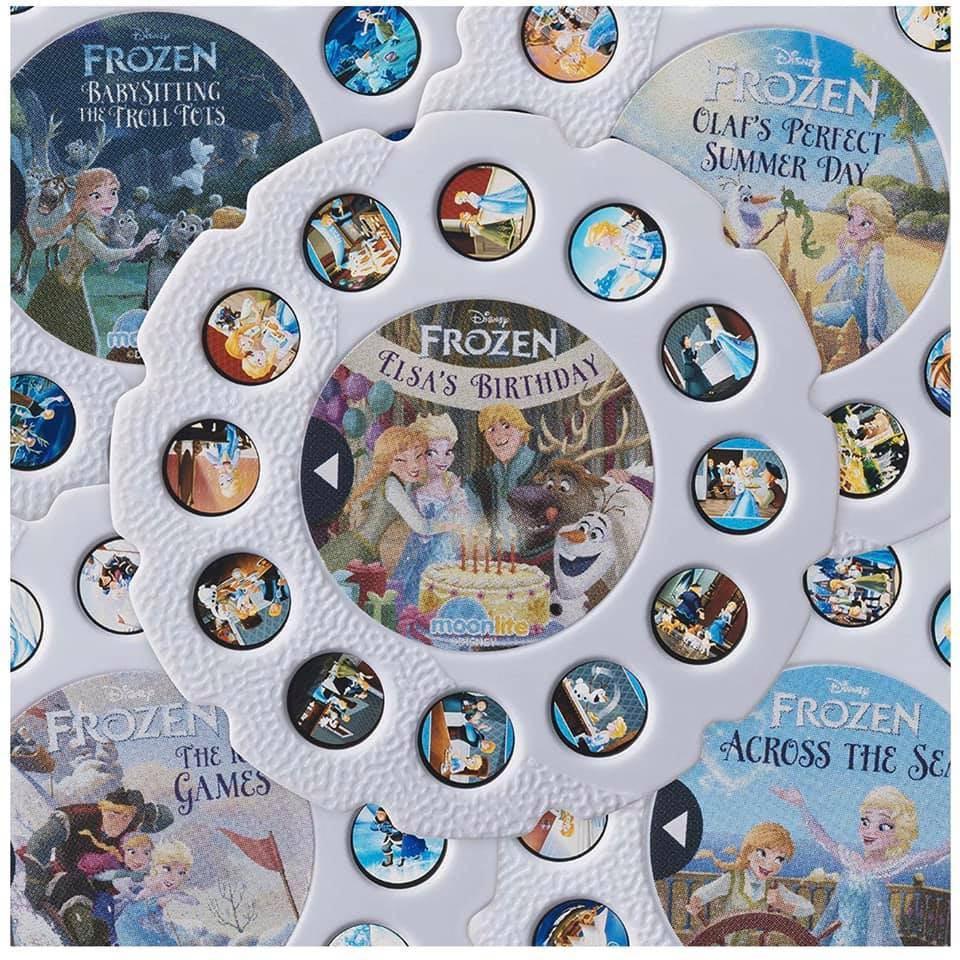 美國直送 Moonlite Frozen storybook projector🎥 魔雪奇緣故事投影機禮盒