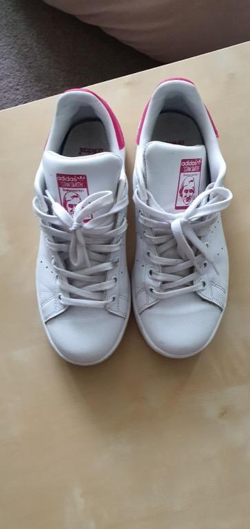 Adidas Stan Smith Kids Original Pink - Used size US4/ UK3.5/ FR 36