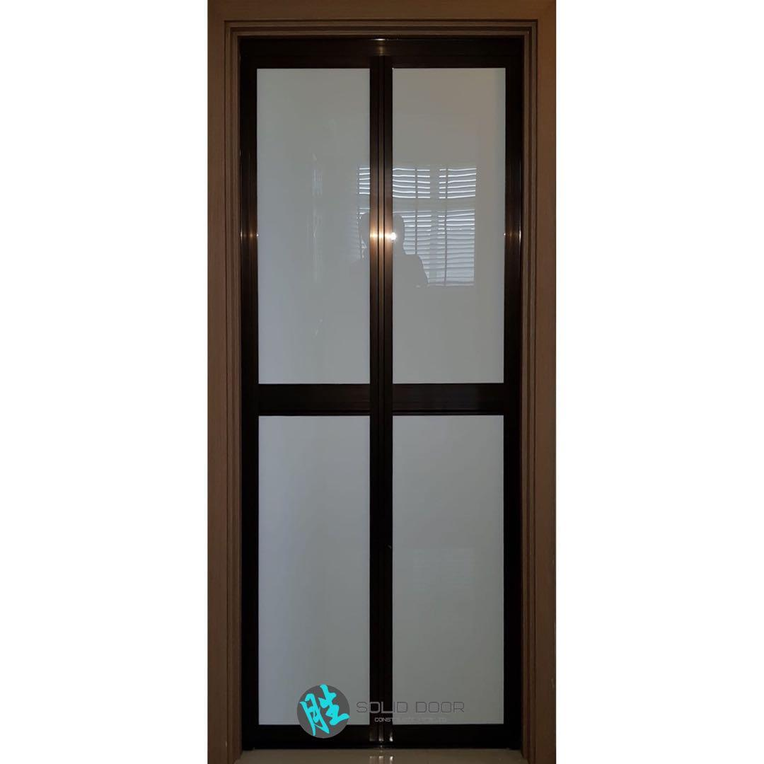 Aluminium Bi-fold Door for HDB & BTO TOILET & KITCHEN