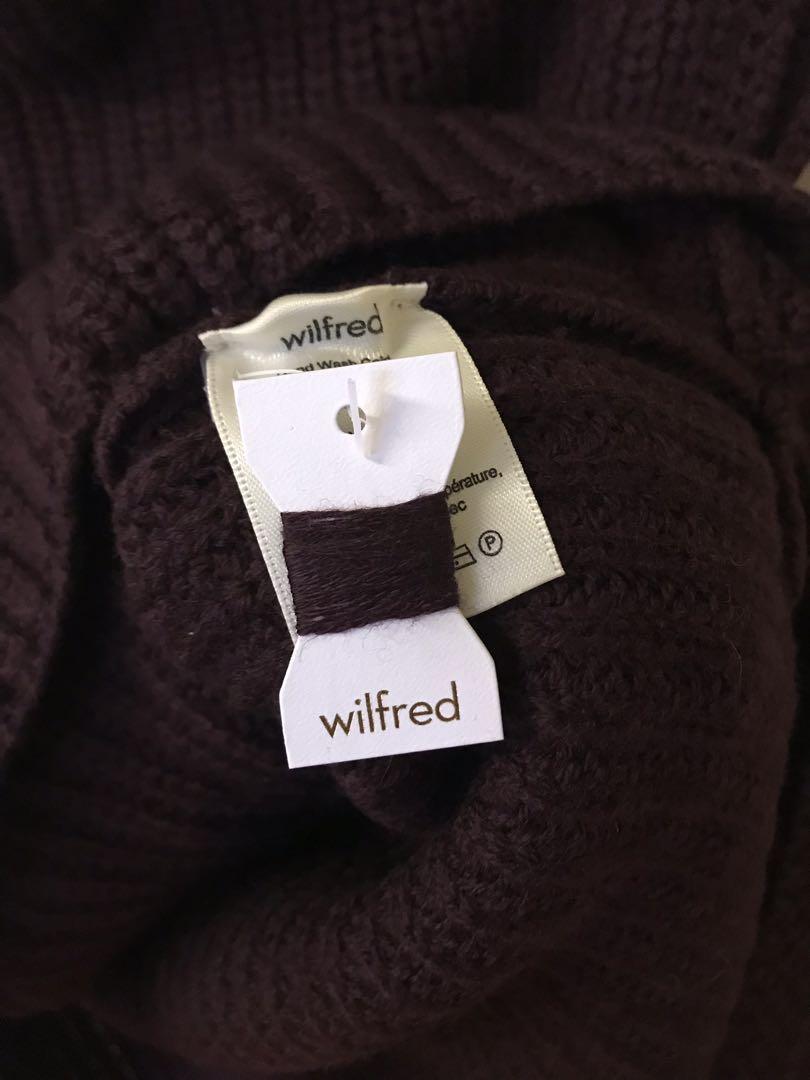 Aritzia Wilfred Sleeveless Knit Turtleneck Sweater Tank Top