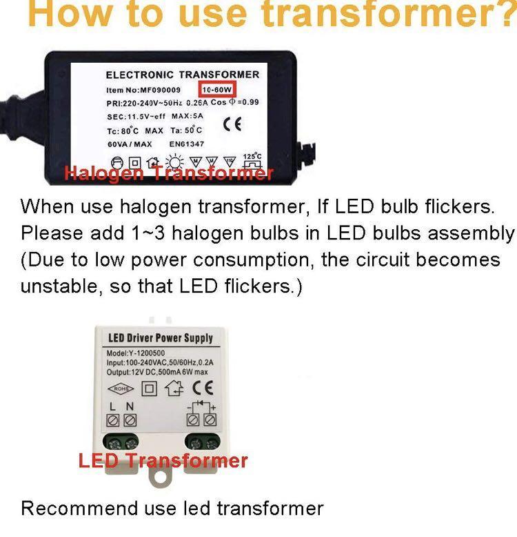 (B0047) G4 2W LED MR11 Light Bulbs, 12v , (Pack Of 4)
