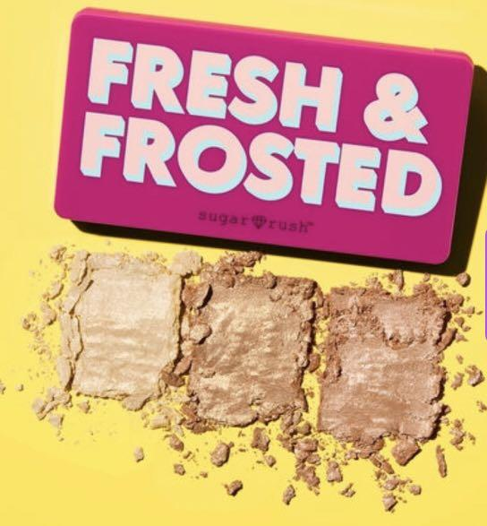 TARTE BRAND NEW FRESH AND FROSTED HIGHLIGHTER PALLET