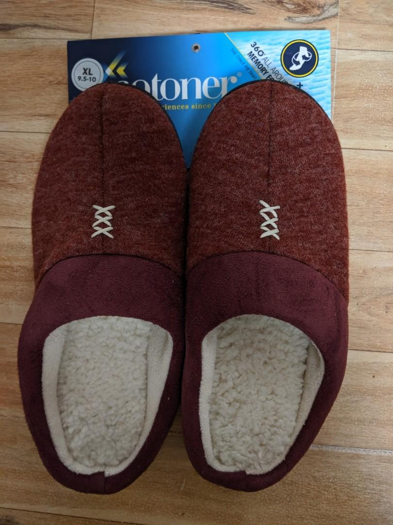 Brand New ISOTONER Women's Slip On Cushioned Slipper with All Around Memory Foam for Indoor/Outdoor Comfort