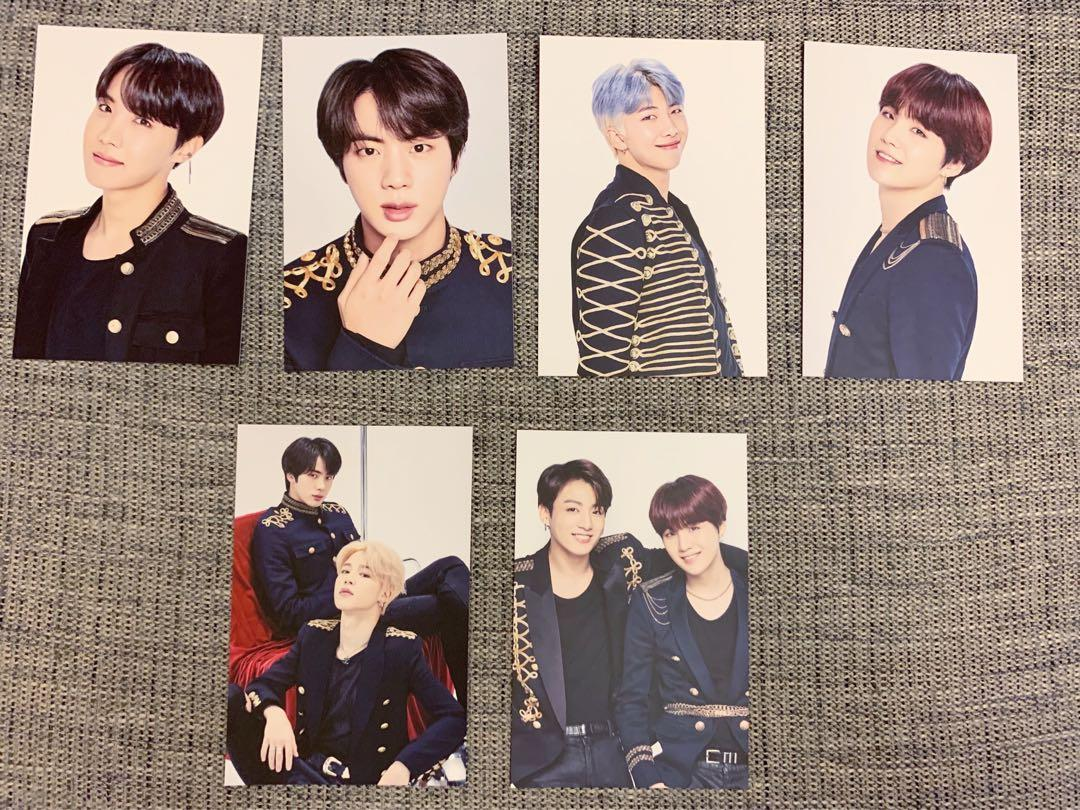 BTS speak yourself photo card 防彈小卡