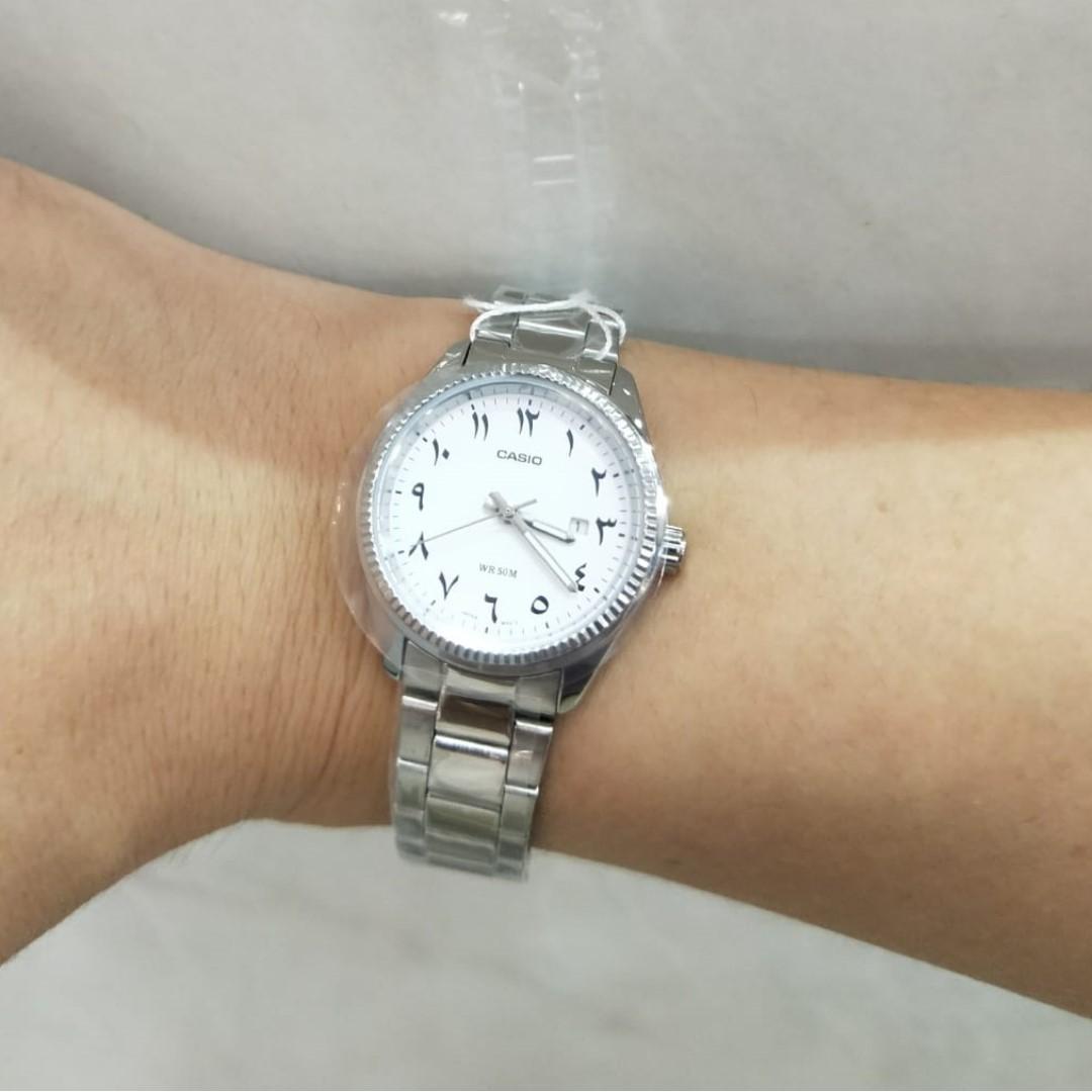 Casio Watch Arabic numerals