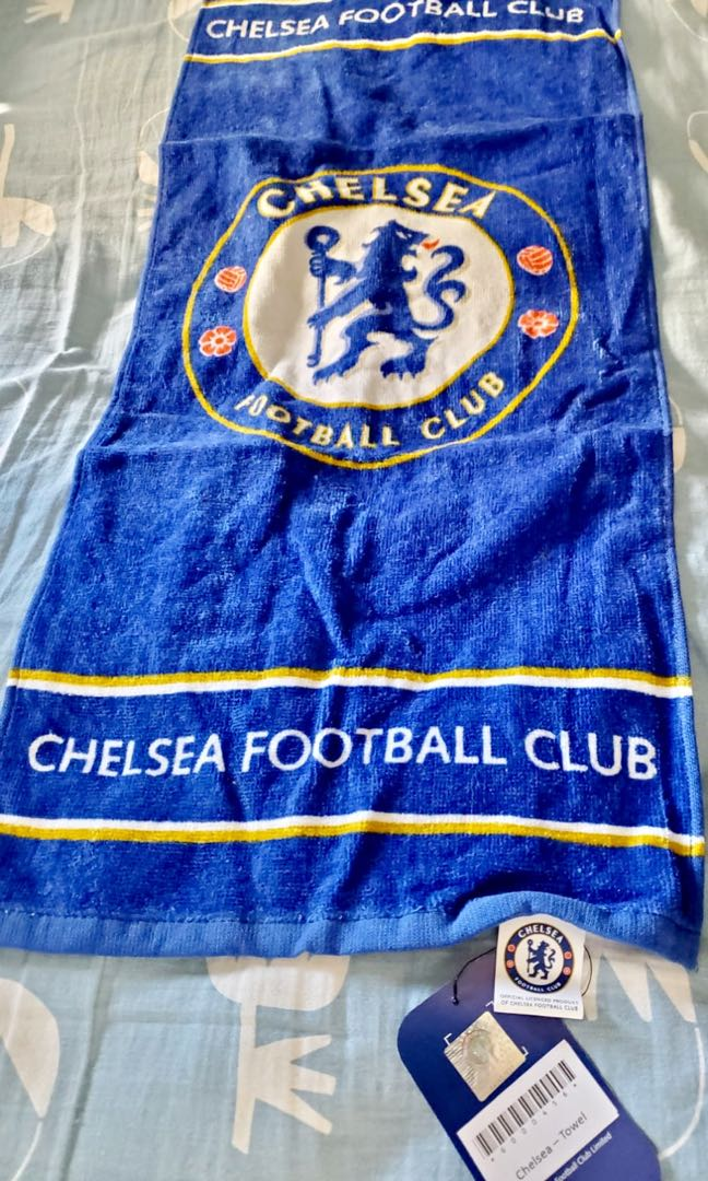 Chelsea football club towel (official product) 車路士 球會 毛巾