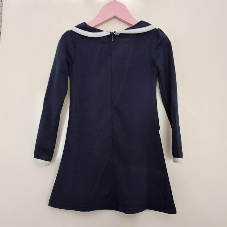 fits size 2 slim fit vgc mock 2 layer fitted long sleeve winter dress