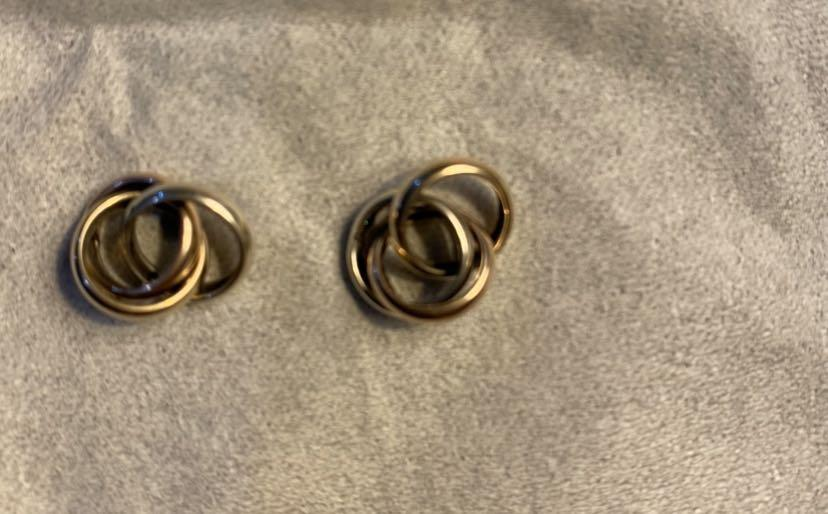 Gold, rose gold & white gold from Michael hill jeweller $50 each