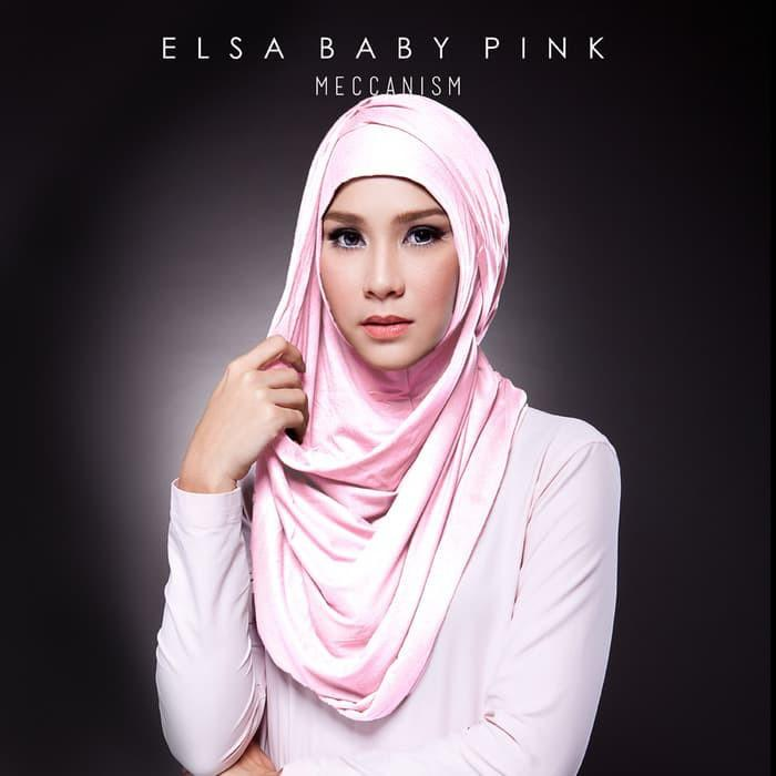 Hijab pashmina instan warna orange