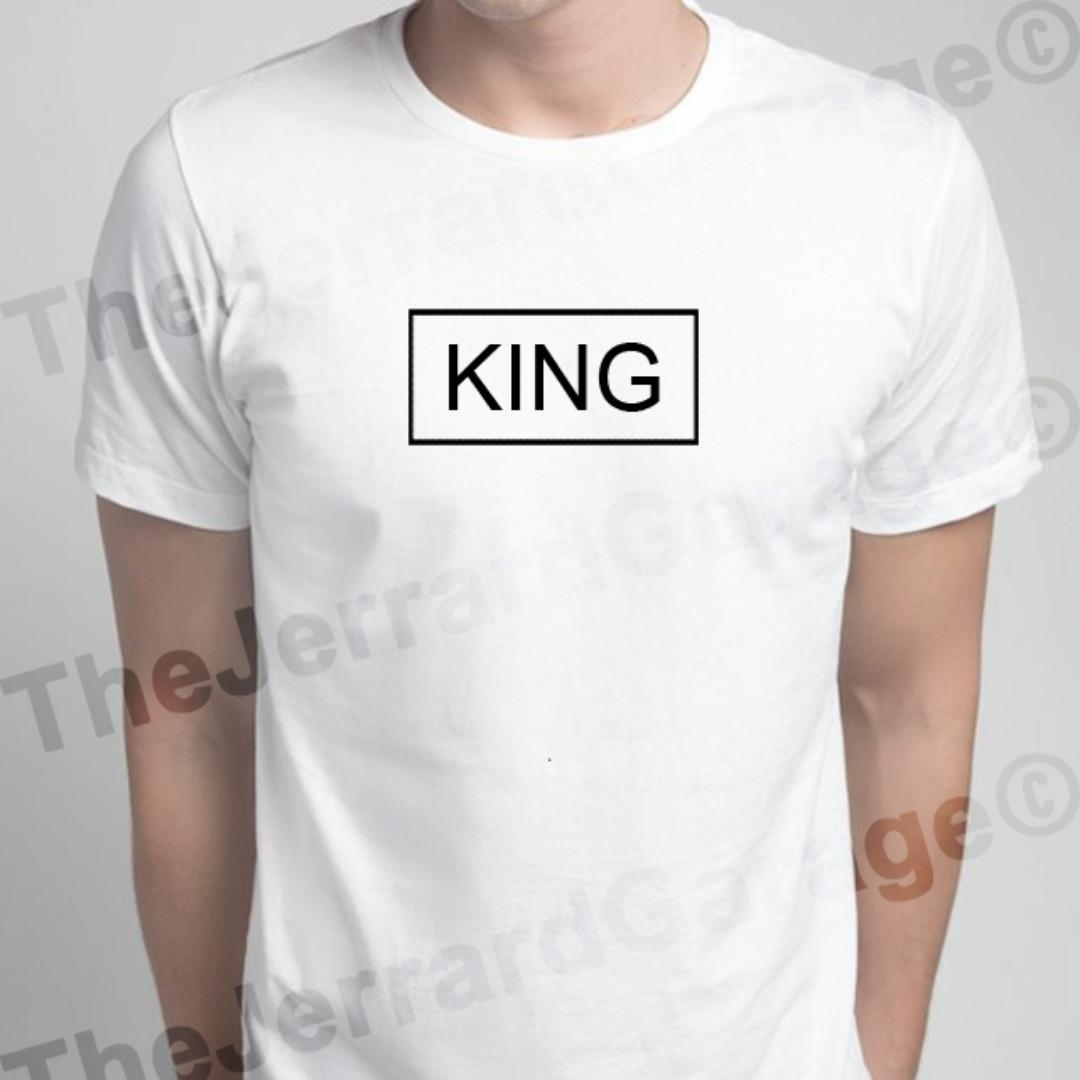 King & Queen Box Design Couple Top