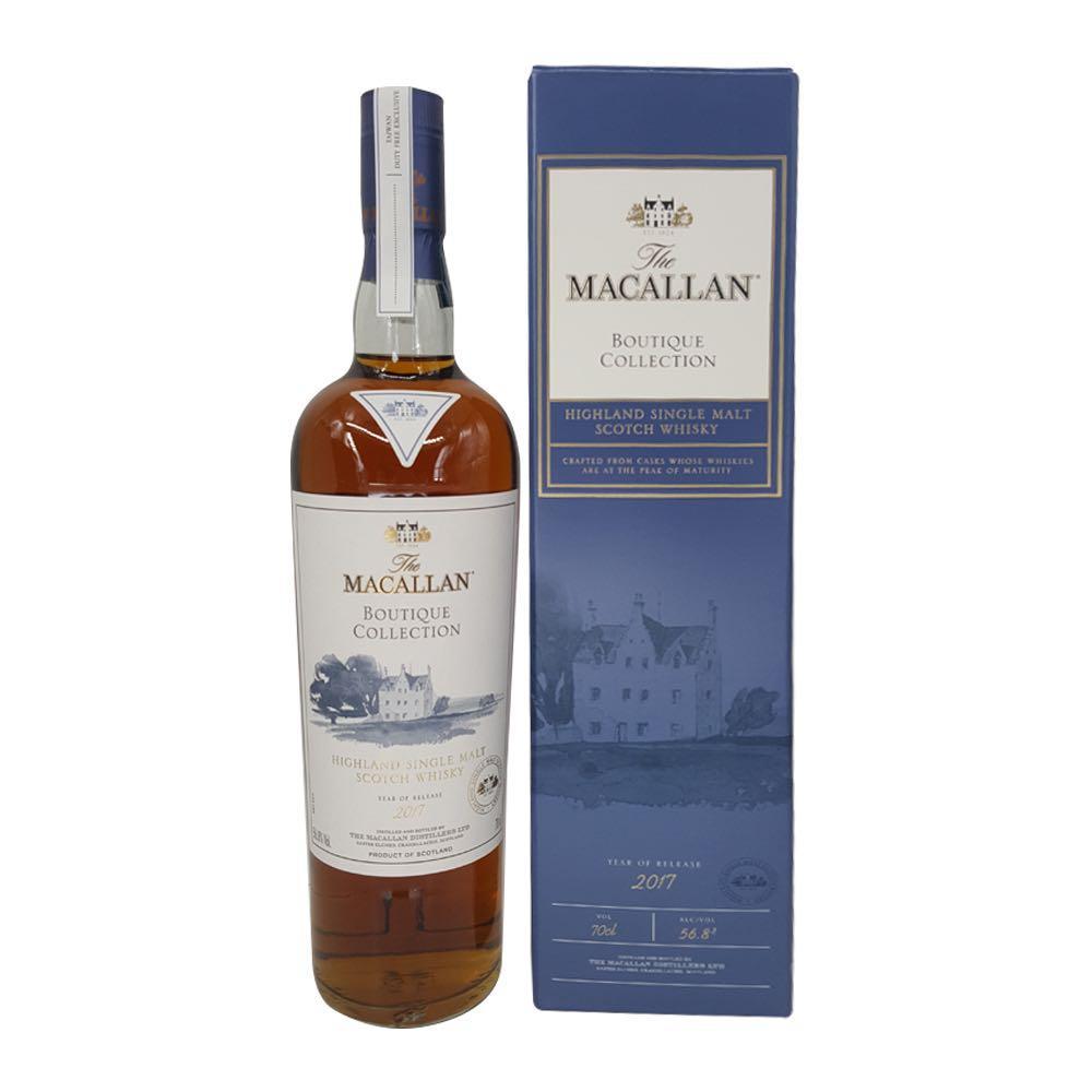 Macallan boutique 2017 whisky