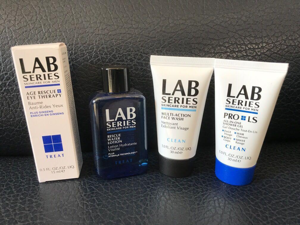 Men's skincare LAB Series 洗面沐浴眼霜