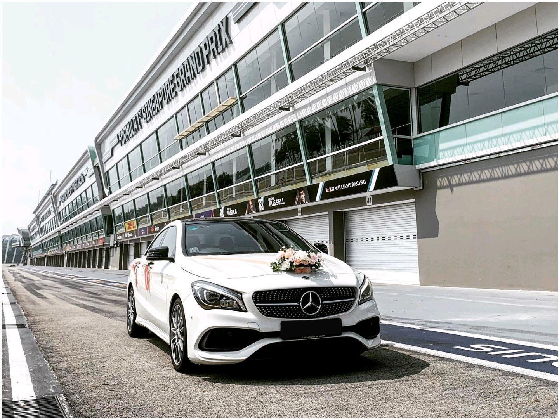 Mercedes Benz CLA180 (WEDDING CHAUFFEUR)