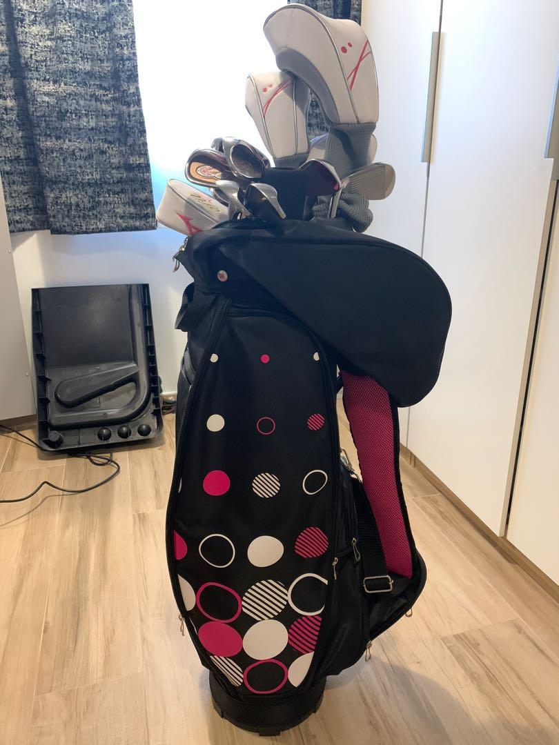 Mizuno efil ladies golf clubs (for beginner )