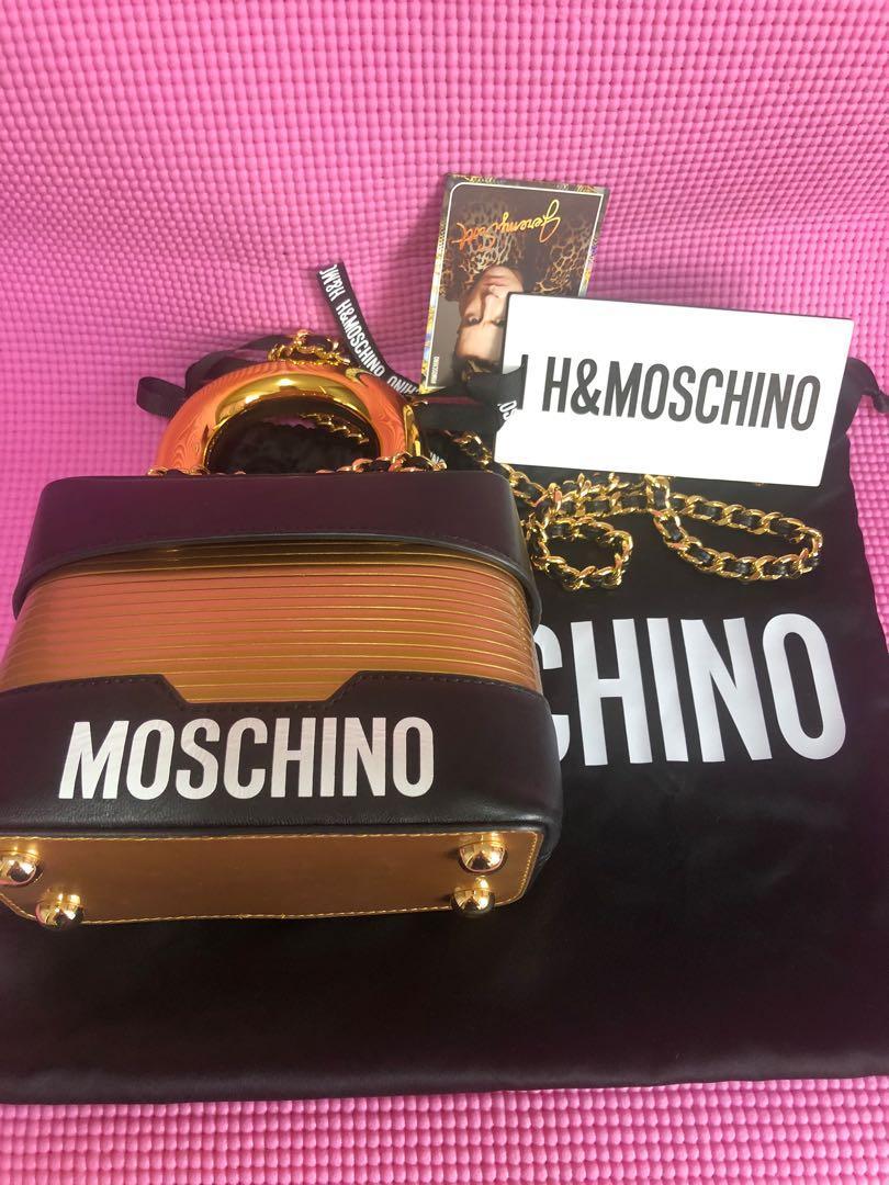 Moschino locker bag