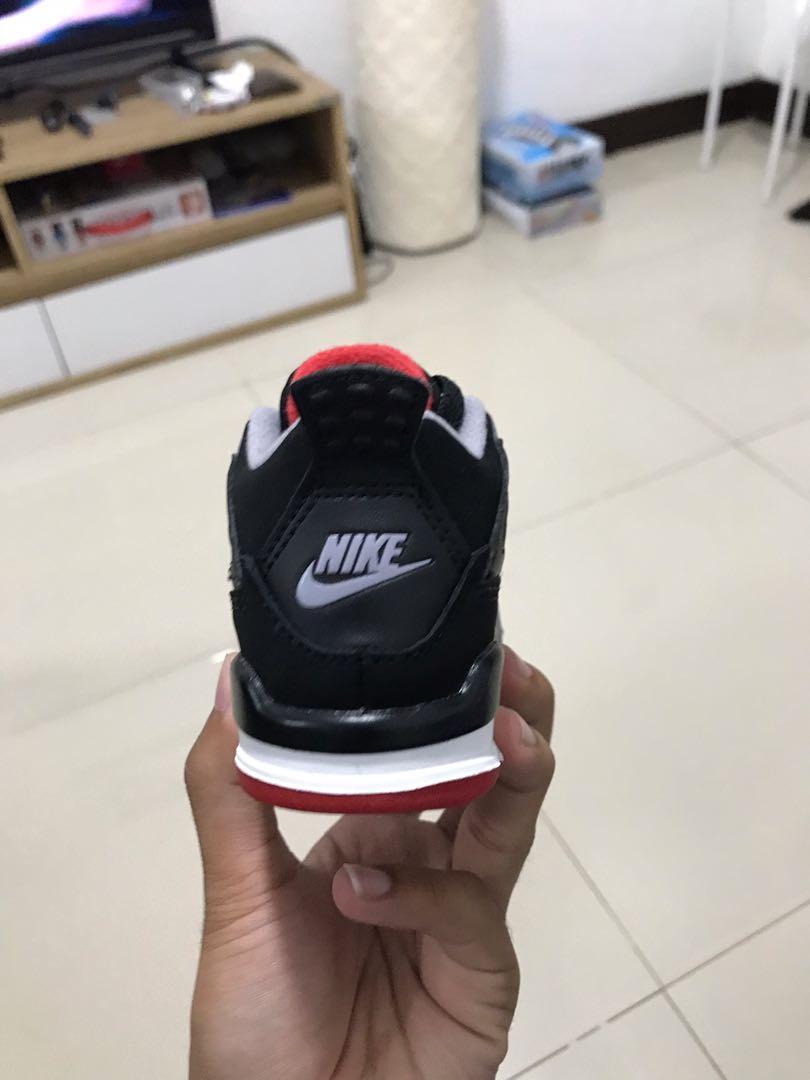Nike Jordan 4 Retro Bred