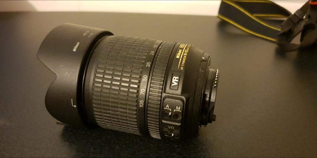 Nikon D D5100 16.2 MP Digital SLR Camera - Black (Kit w/ AF-S VR 18-105mm)