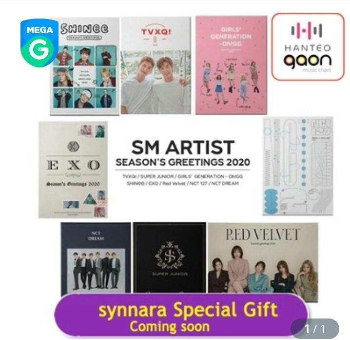 [CLOSED]  SM ARTIST SEASON'S GREETING 2020 SYNNARA