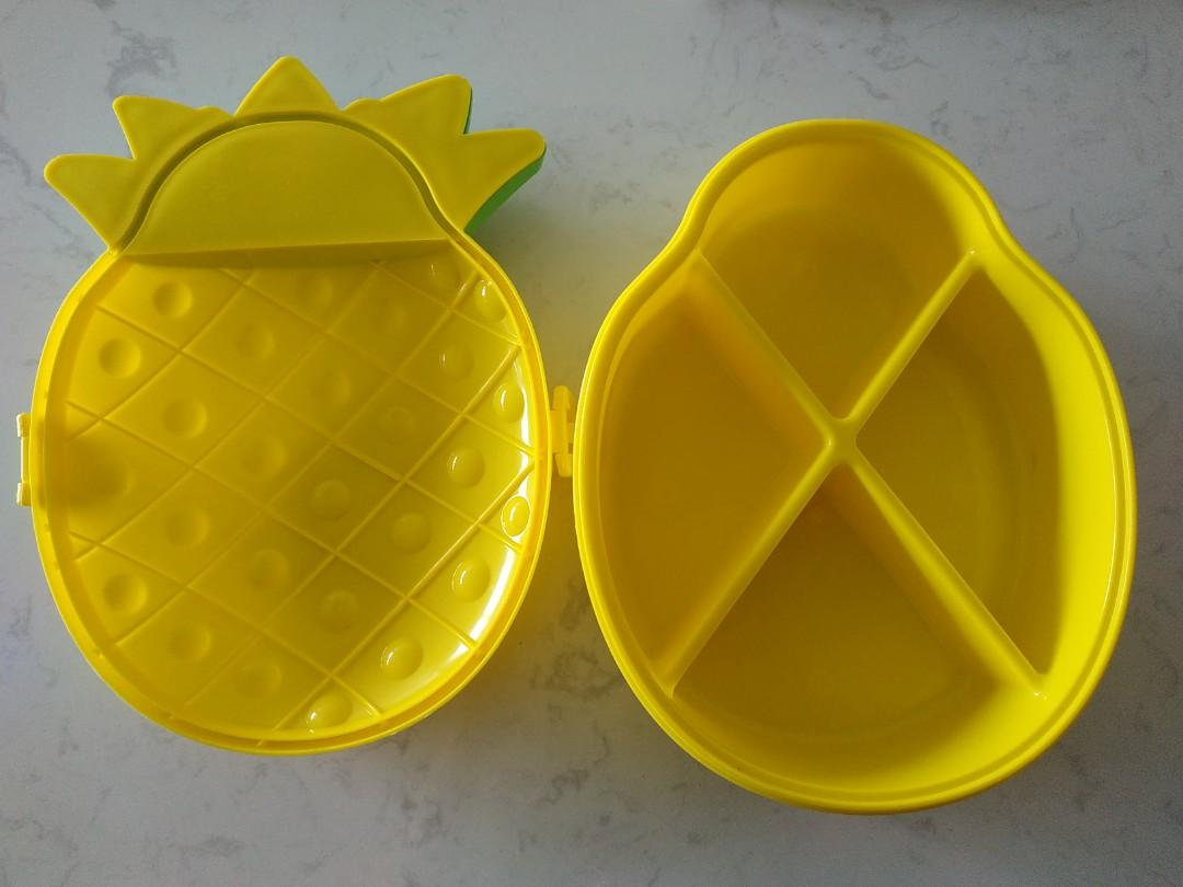 Pineapple food container