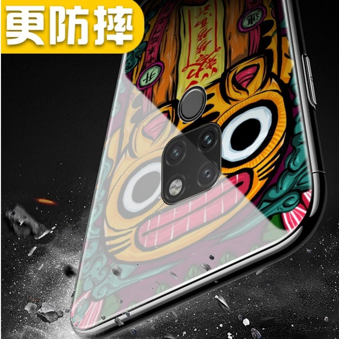 PROMO 💥Huawei Mate 20 Pro Tempered Glass Casing - 年兽抱财💥