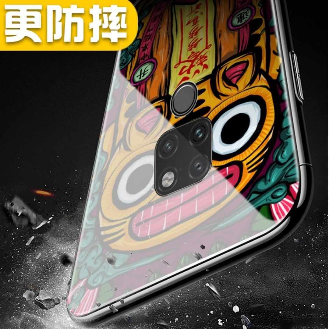 PROMO💥Huawei Mate 20 Pro Tempered Glass Casing - 开运锦鲤💥