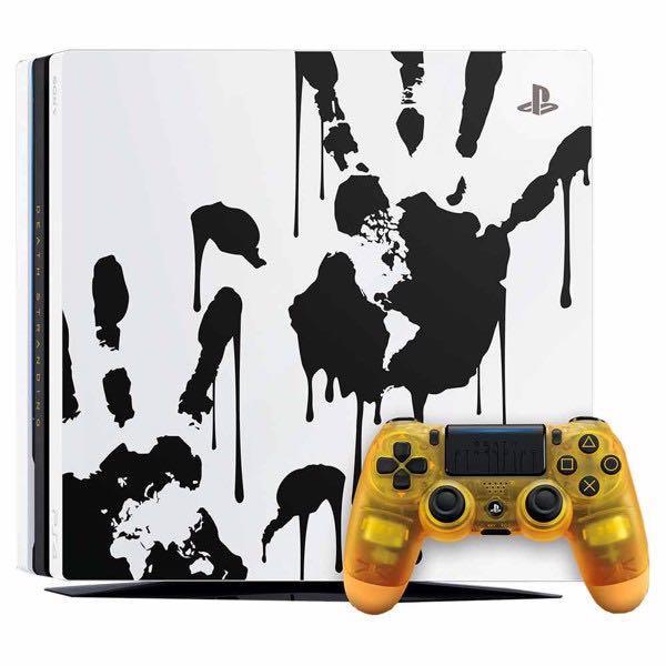 PS4 PRO Limited Edition Death Stranding Console Bundle