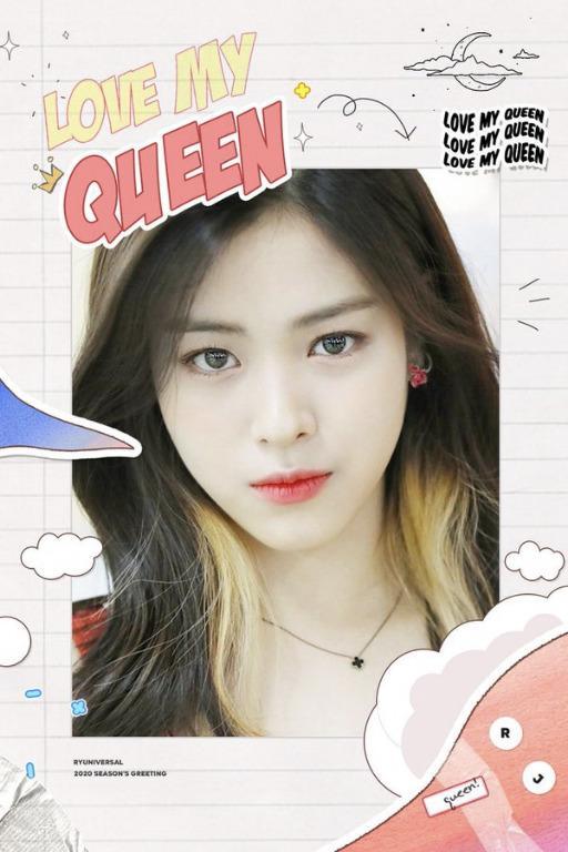 RYUJIN - 2020 Season Greeting 'Love My Queen' [18/11]