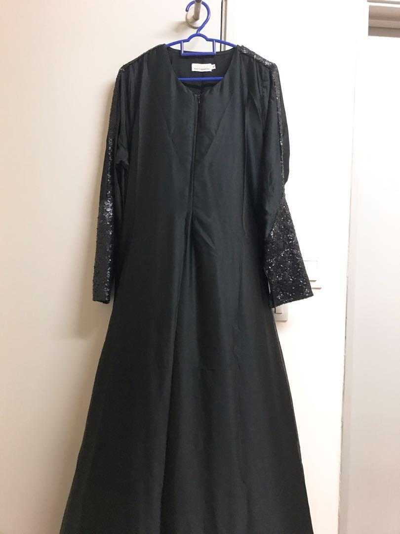 Sequine Dress/Jubah  Minaz